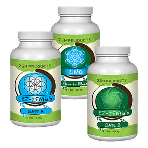 Zen Products Grow Base Nutrients